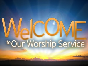 welcome_to_our_worship_service_t